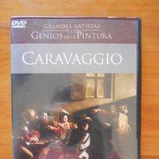 Cine: DVD CARAVAGGIO - GRANDES ARTISTAS Y GENIOS DE LA PINTURA (Q3). Lote 118066175