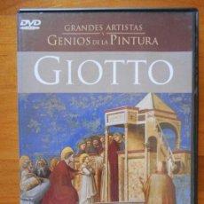 Cine: DVD GIOTTO - GRANDES ARTISTAS Y GENIOS DE LA PINTURA (E8). Lote 118082795