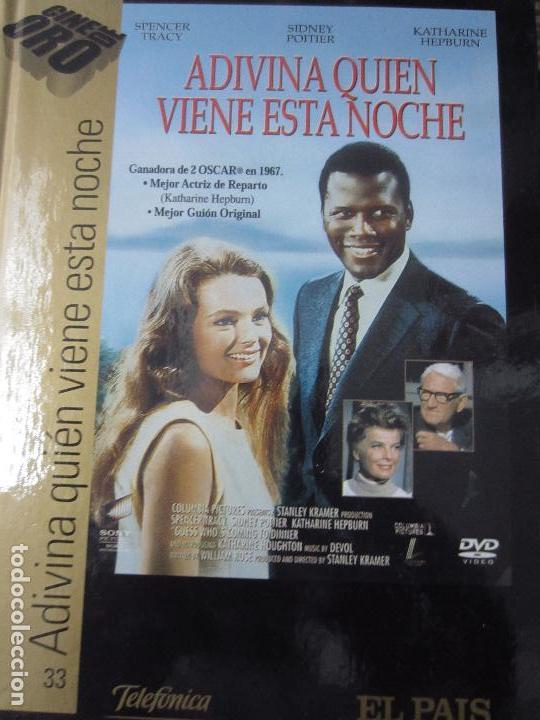 ADIVINA QUIEN VIENE ESTA NOCHE DVD LIBRO (Cine - Películas - DVD)