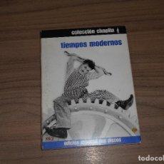 Cine: TIEMPOS MODERNOS EDICION ESPECIAL WARNER 2 DVD CHARLES CHAPLIN WARNER DISCOS COMO NUEVOS. Lote 257415515