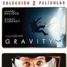 Cine: GRAVITY - 2001: UNA ODISEA DEL ESPACIO (2 DVDS) DIRECTORES: ALFONSO CUARON, STANLEY KUBRICK. Lote 118141343