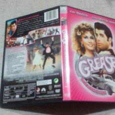 Cine: GREASE JOHN TRAVOLTA OLIVIA NEWTON JOHN DVD ORIGINAL EDICION 2/DISCOS. Lote 118152088