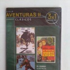 Cine: DVD CLÁSICO DE AVENTURAS. Lote 118258515