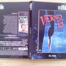 Cine: COLECCION EL PAIS CINE DE TERROR - LIBRO + DVD - VIERNES 13. Lote 118306639