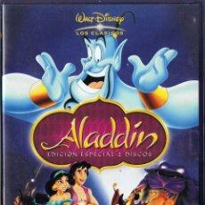 Cine: ALADDÍN - WALT DISNEY. EDICIÓN ESPECIAL 2 DISCOS. DVD. Lote 118351239