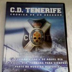 Cine: DVD - DOCUMENTAL - C.D. TENERIFE CRÓNICA DE UN ASCENSO 2009. Lote 118390059