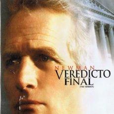 Cine: VEREDICTO FINAL PAUL NEWMAN ( DVD PRECINTADO). Lote 118432239