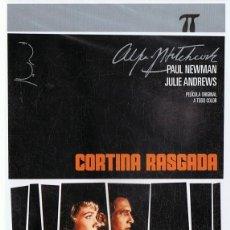 Cine: CORTINA RASGADA PAUL NEWMAN ( DVD PRECINTADO). Lote 118432535