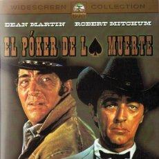 Cine: EL PÓKER DE LA MUERTE DEAN MARTÍN (DVD). Lote 118433059