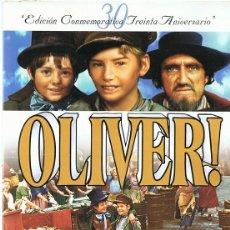 Cine: OLIVER! EDICIÓN CONMEMORATIVA 30 ANIVERSARIO (DVD). Lote 118433307
