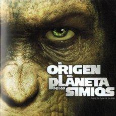 Cine: EL ORIGEN DEL PLANETA DE LOS SIMIOS (DVD). Lote 118433747