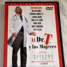 Cine: DVD - EL DR. T. Y LAS MUJERES / RICHARD GERE, HELEN HUNT, FARRAH FAWCETT, LAURA DERN, TARA REID. Lote 118450483