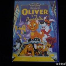 Cine: OLIVER Y SU PANDILLA - DVD CASI COMO NUEVO. Lote 118564987