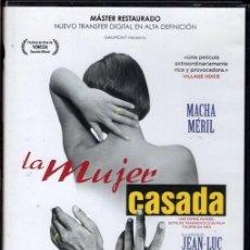 Cine: LA MUJER CASADA (J-LUC GODARD) .. LA INFIDELIDAD DE ELLA... UNA HISTORIA COTIDIANA Y PROVOCADORA. Lote 118655119