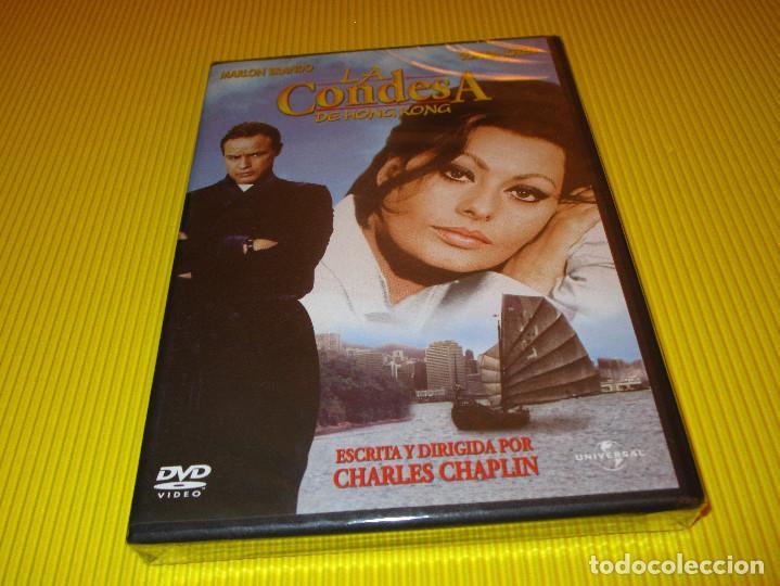 LA CONDESA DE HONG KONG - DVD - EDICION 823 438 8 - UNIVERSAL - PRECINTADO - MARLON BRANDO ... (Cine - Películas - DVD)