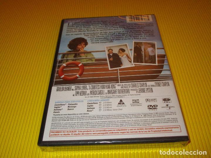 Cine: LA CONDESA DE HONG KONG - DVD - EDICION 823 438 8 - UNIVERSAL - PRECINTADO - MARLON BRANDO ... - Foto 2 - 118708487