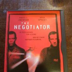 Cine: THE NEGOCIATOR (EL NEGOCIADOR). SAMUEL L. JACKSON - KEVIN SPACEY. DVD EN INGLÉS. Lote 118766666