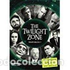 Cine: THE TWILIGHT ZONE DVD. TEMPORADA 3. 37 CAPÍTULOS EN 5 DVD. NUEVO. PRECINTADO.. Lote 118836623
