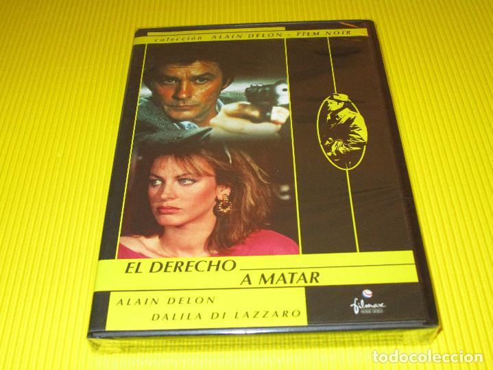 EL DERECHO A MATAR - DVD - FILMAX HOME VIDEO - PRECINTADA - COLECCION ALAIN DELON - FILM NOIR (Cine - Películas - DVD)
