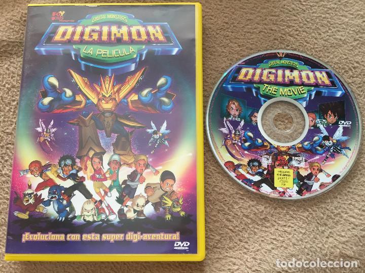 DIGITAL MONSTERS DIGIMON LA PELICULA DVD VIDEO FOX KIDS KREATEN (Cine - Películas - DVD)