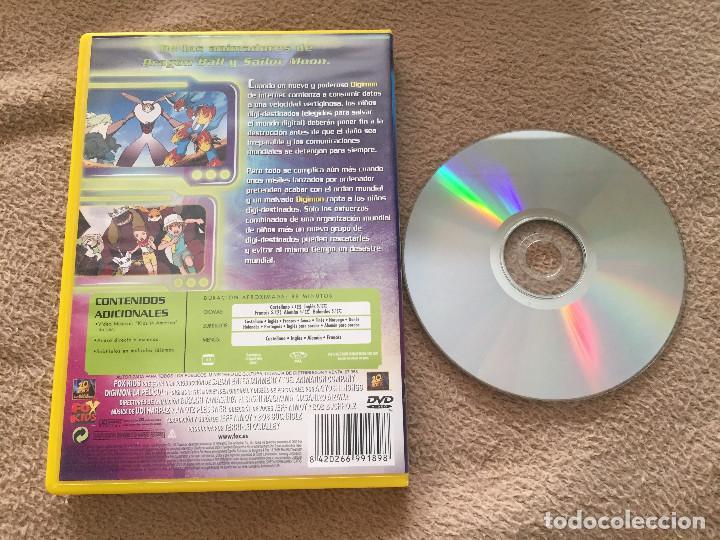 Cine: DIGITAL MONSTERS DIGIMON LA PELICULA dvd video fox kids kreaten - Foto 2 - 225316820