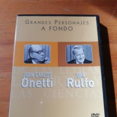 Cine: DVD JUAN CARLOS ONETTI Y JUAN RULFO. Lote 118973336