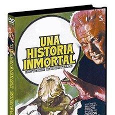Cine: UNA HISTORIA INMORTAL. DVD. ORSON WELLES. CON JEANNE MOREAU. Lote 119016683