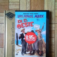 Cine: LOS HERMANOS MARX - EN EL OESTE - PRECINTADA. Lote 119079611