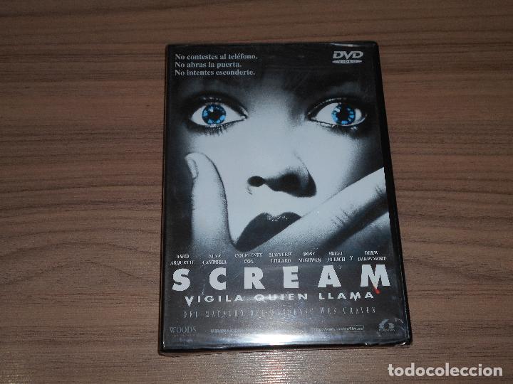 SCREAM EDICION ESPECIAL DVD + MULTITUD DE EXTRAS WES CRAVEN NUEVA PRECINTADA (Cine - Películas - DVD)