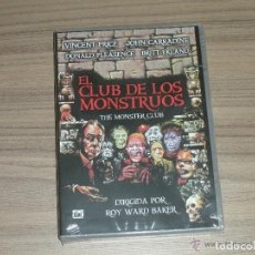 Cine: EL CLUB DE LOS MONSTRUOS DVD DONALD PLEASANCE VINCENTE PRICE STUART WHITMAN NUEVA PRECINTADA. Lote 205585866