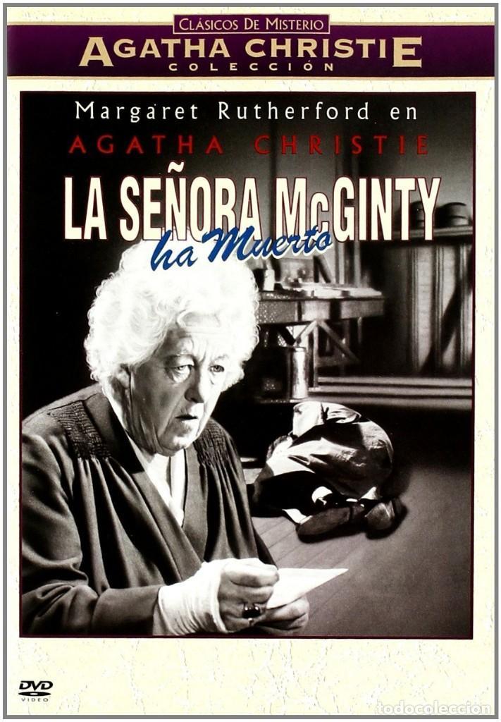 LA SEÑORA MCGINTY HA MUERTO ** CON MARGARET RUTHERFORD ** COLECCION AGATHA CHRISTIE ** MULTI IDIOMAS (Cine - Películas - DVD)