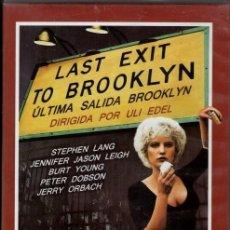 Cine: LAST EXIT TO BROOKLYN DVD (ULTIMA SALIDA BROOKLYN- CASTELLANO)... REGRESO AL BARRIO CONFLICTIVO. Lote 119184039