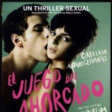 Cine: EL JUEGO DEL AHORCADO DVD (2 NOMINAC. GOYA).AMOR INTENSO ADOLESCENTE..CON ALGÚN DESAGRADABLE SECRETO. Lote 119188799