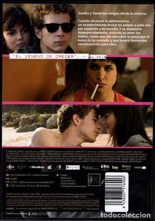 Cine: EL JUEGO DEL AHORCADO DVD (2 NOMINAC. GOYA).AMOR INTENSO ADOLESCENTE..CON ALGÚN DESAGRADABLE SECRETO - Foto 2 - 119188799