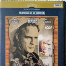 Cine: EL ROSTRO IMPENETRABLE DIRIGIDA POR MARLON BRANDO (DVD) (INCLUYE LIBRETO). Lote 119301227