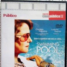 Cine: SWIMMING POOL (LA PISCINA) DIRIGIDA POR FRANÇOIS OZON (DVD).. Lote 119312631