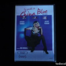 Cine: LA PASION DE CHINA BLUE - DVD NUEVO PRECINTADO. Lote 176269844