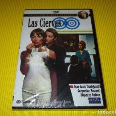 Cine: LAS CIERVAS - DVD - EDICION 1669 - SUEVIA FILMS - PRECINTADA - JEAN-LOUIS TRINTIGNANT .... Lote 119441335