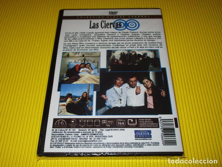 Cine: LAS CIERVAS - DVD - EDICION 1669 - SUEVIA FILMS - PRECINTADA - JEAN-LOUIS TRINTIGNANT ... - Foto 2 - 119441335
