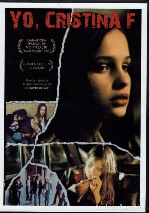 YO CRISTINA F.: (MUSICA DE DAVID BOWIE)- LOS ESCARCEOS EN LA DROGA LLEVAN ...A UN MAL FINAL (Cine - Películas - DVD)