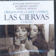 Cine: LAS CIERVAS DVD (LES BICHES-CLAUDE CHABROL)..- UN INTENSO Y PERTURBADOR RELATO DE SEXO Y SEDUCCIÓN.. Lote 40314086
