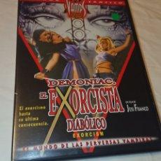 Cine: DVD EL EXORCISTA DIABÓLICO DEMONIAC JESS FRANCO. Lote 119719995