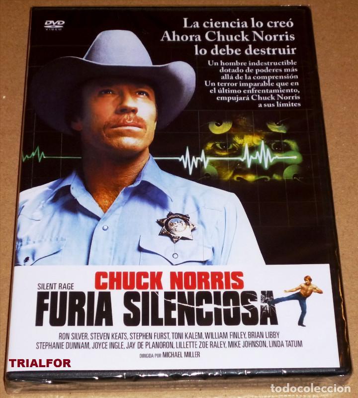 FURIA SILENCIOSA / SILENT RAGE CHUCK NORRIS - PRECINTADA (Cine - Películas - DVD)