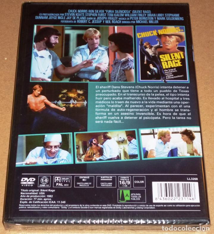 Cine: FURIA SILENCIOSA / SILENT RAGE Chuck Norris - Precintada - Foto 2 - 119763715