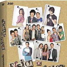 Cine: FISICA O QUIMICA TEMPORADA 7 COMPLETA 3 DVD NUEVA PRECINTADA. Lote 179333856