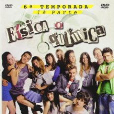 Cine: FISICA O QUIMICA TEMPORADA 6 PARTE 1 DVD NUEVA PRECINTADA. Lote 179333866
