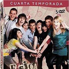 Cine: FISICA O QUIMICA TEMPORADA 4 COMPLETA 5 DVD NUEVA PRECINTADA. Lote 179333851