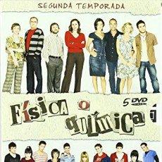 Cine: FISICA O QUIMICA TEMPORADA 2 COMPLETA 5 DVD NUEVA PRECINTADA. Lote 235178770