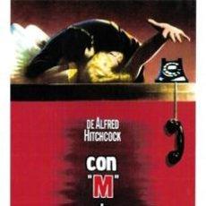 Cine: M DE MUERTE - ALFRED HITCHCOCK CON GRACE KELLY, RAY MILLAND DVD NUEVO. Lote 119922799