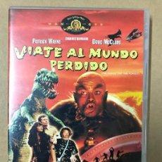 Cine: DVD VIAJE AL MUNDO PERDIDO - PATRICK WAYNE - DOUG MCCLURE. Lote 119930119